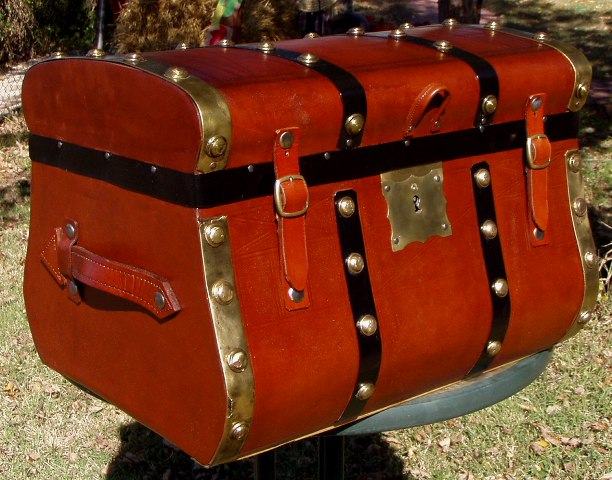 Antique Trunk Restoration And Refinishing By Shenandoah